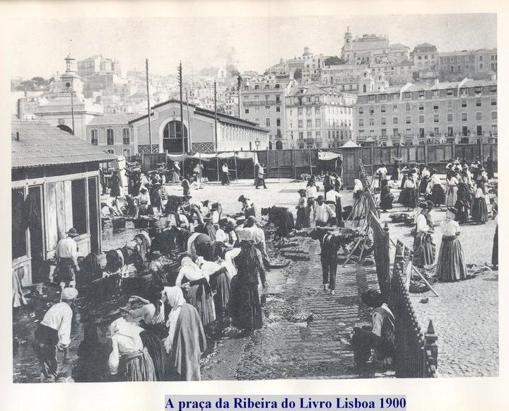 Mercado da Ribeira (1900)