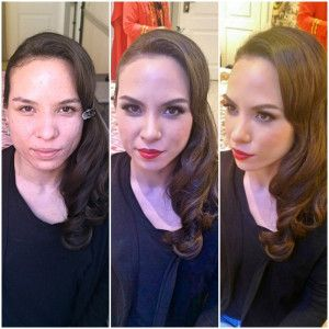 gala evening makeup and hairstyle in Rome by http://janitahelova.com/