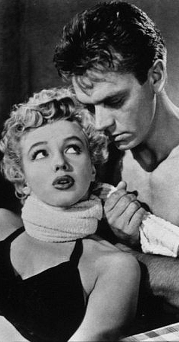 9d452170b226 Marilyn Monroe - 1952 - in Clash By Night - movie still - with Keith Andes  (USA 1920) actor