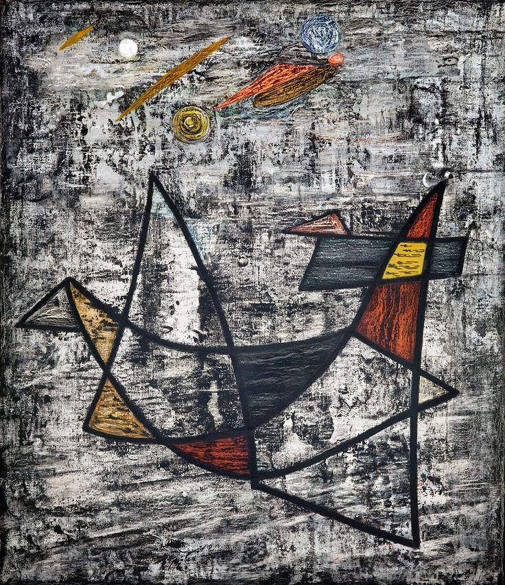Jonasz Stern, Ptak, między 1950 a 1954 #birds #ptaki #kolekcjaMNK #MNKcollection #kolekcja