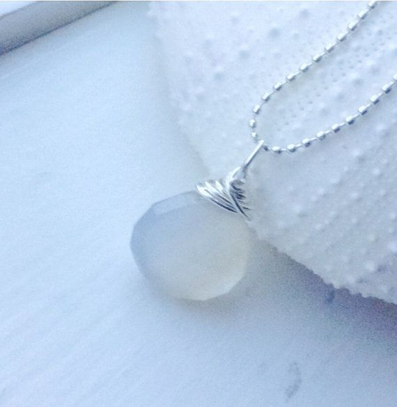 13 best Chalcedony jewelry images on Pinterest | Flat rate, Wire ...