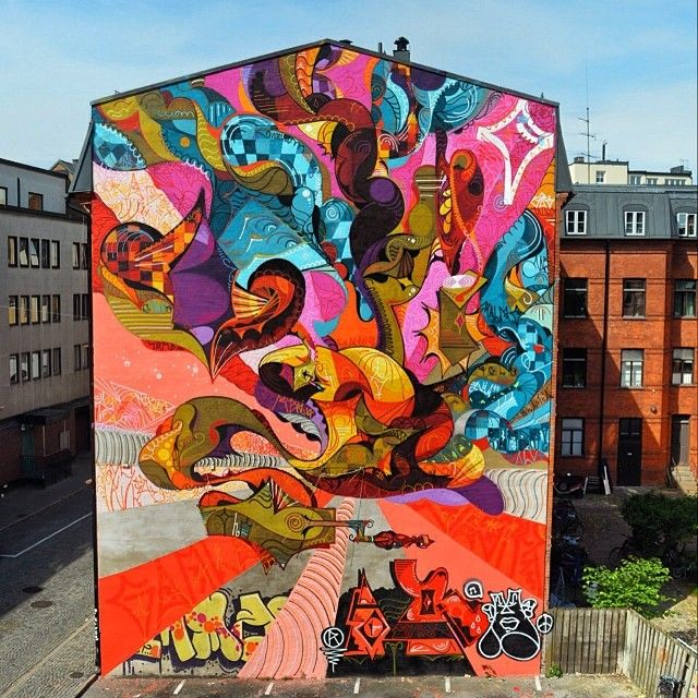 Best Grafitisarte Urbano D Images On Pinterest Urban Art - Spanish street artist transforms building facades into amazing artworks