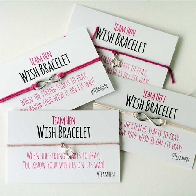 6 cute hen night keepsakes for you and your girls