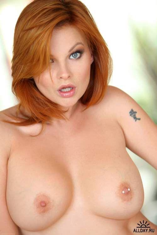 Mulani Rivera Topless Redhead With Nipple Ring