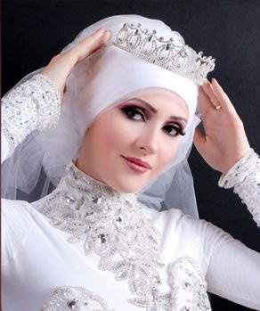 bride with hijab