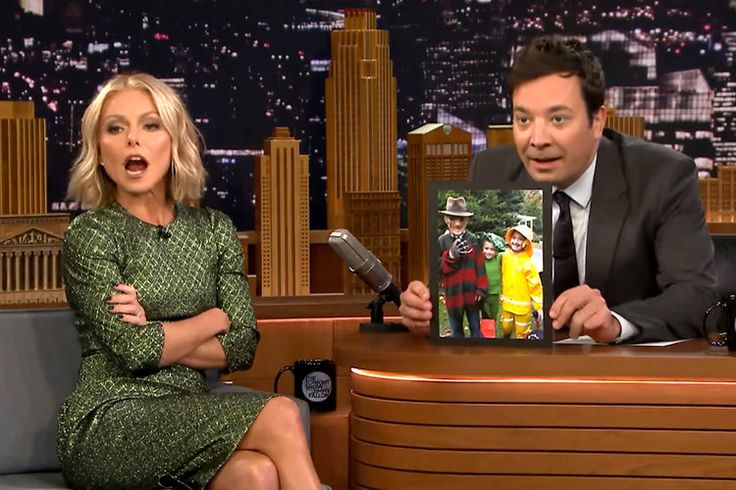 Like mothers everywhere, Kelly Ripa has a knack for embarrassing her teenage daughter. In a recent appearance on The Tonight Show With Jimmy Fallon, the television host explained what happened when she posted a throwback snap of her daughter Lola Consuelos, who's now 16. Spoiler alert: it did not go well.