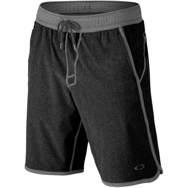 Oakley Crater Short (53 CAD) ❤ liked on Polyvore featuring men's fashion, men's clothing, men's activewear, men's activewear shorts, mens activewear and mens activewear shorts