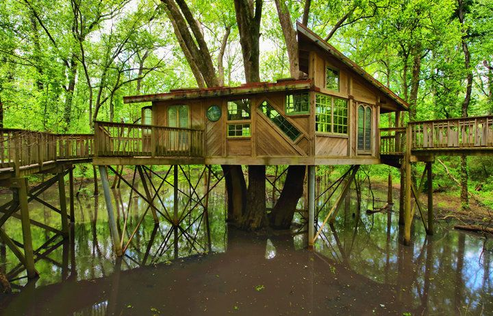 Chattanooga Nature Center's treehouse!