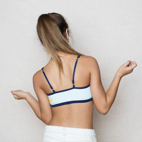 Teen girl first bra should