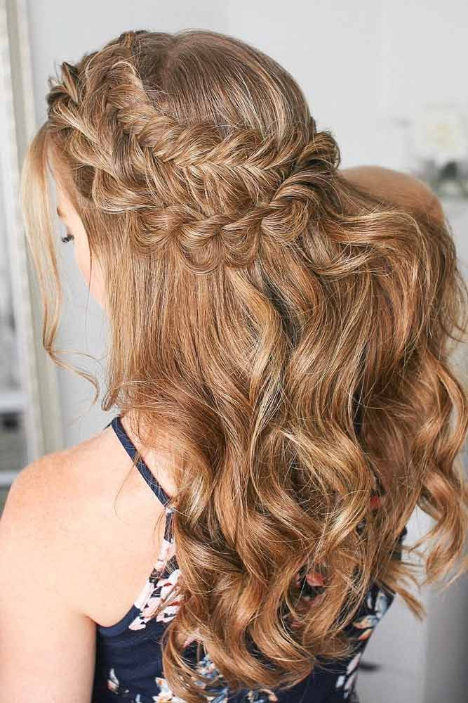 Christmas Hairstyles For Long Hair.18 Christmas Hairstyles For Wavy Hair Special Occasion