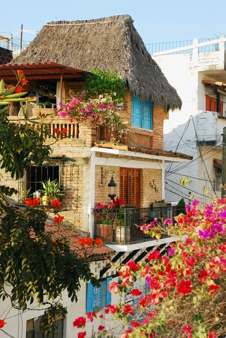 mexicoDreams Home, Little Houses, Puerto Vallarta Mexico, Beach Houses, Beautiful Home, Colors House, Dreams House, Places, Dream Houses