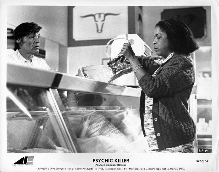 Neville Brand and Della Reese, Psychic Killer (1975)