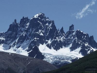 The Cerro Castillo Mountains Near Coyhaique, Chile Photographic Print