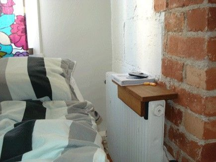 great idea for radiator shelf by terrie