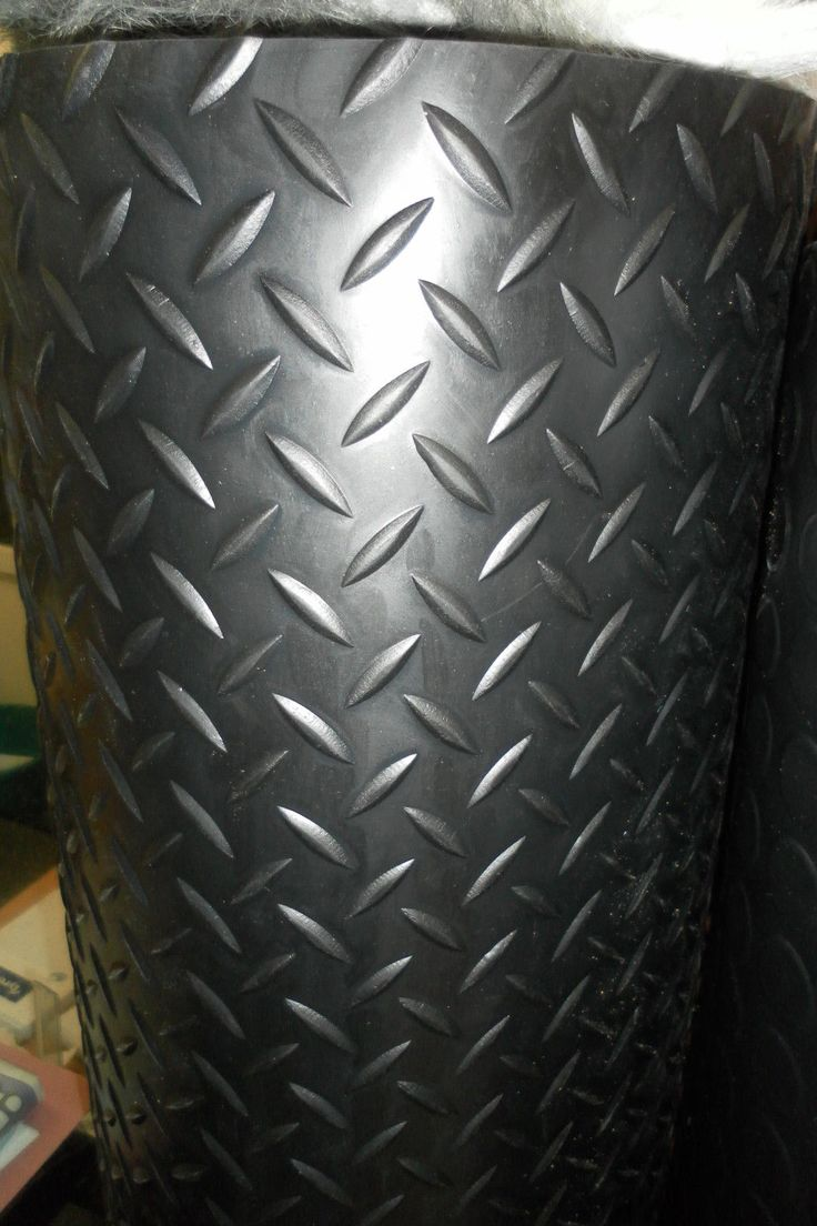 CHECKER - PLATE RUBBER GARAGE FLOORING MATTING 1.5M WIDE X 3MM THICK | eBay