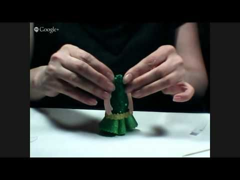 Куколка-магнитик из фоамирана. - YouTube