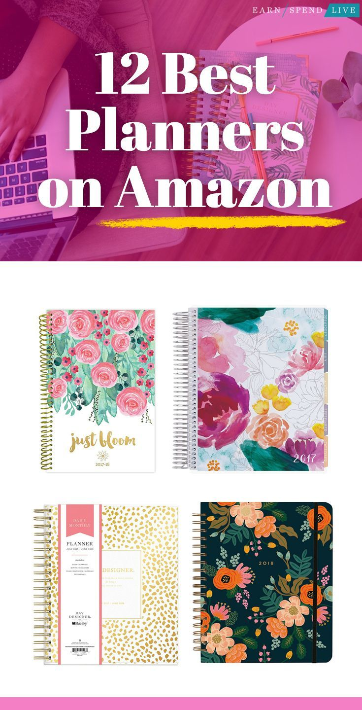 12 Planners You Can Buy on Amazon | Book | Best planners, Best daily