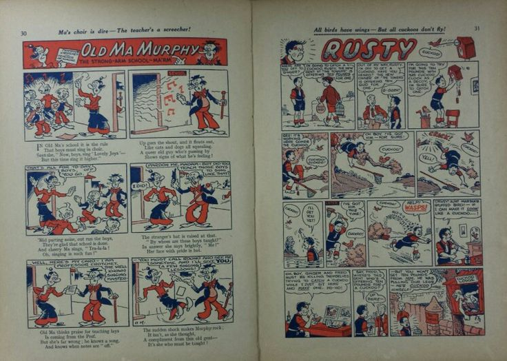 Dandy Book 1953 - Pg 30 and 31
