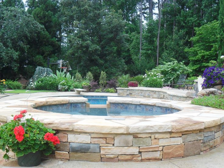 50 Best Tile And Stone For Swimming Pools Images On