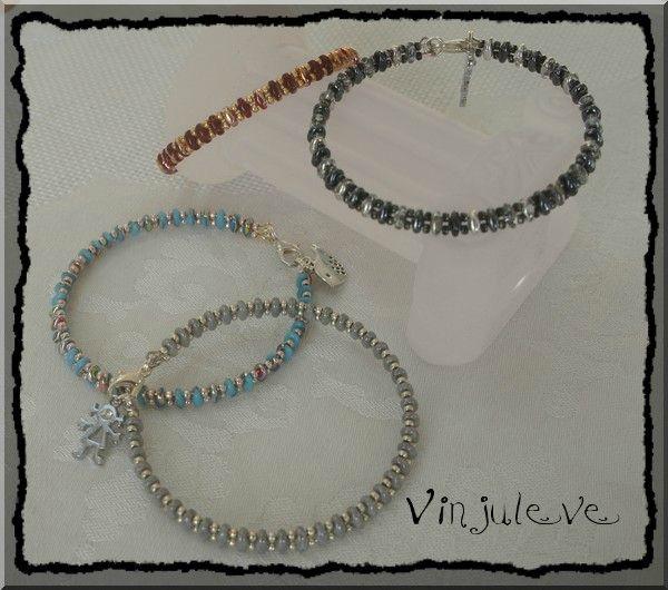 Bracelet Hel ( Ville de Pologne) - Les perles de VinJulEve