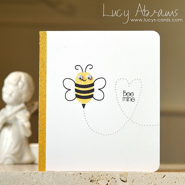 245 best images about valentines cards – Bee Valentine Cards