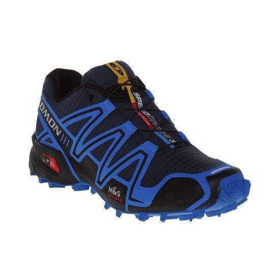 Tênis Salomon Speedcross 3 Masculino Azul / Preto  Ref:01011074-327841