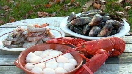 Fondue aux fruits de mer et chowder, version Fred Morin - Recettes - À la di Stasio