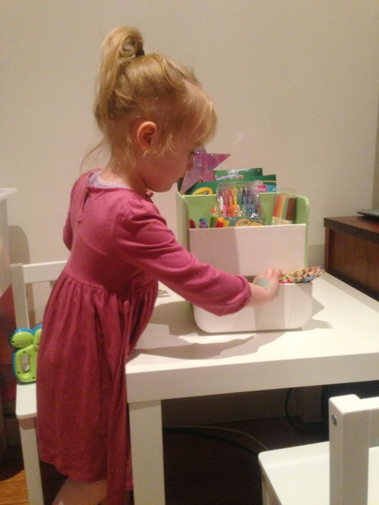 Change your b.box nappy caddy into the b.box art caddy!  #artcaddy #organised