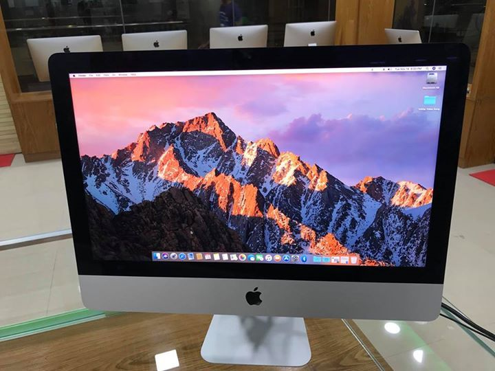 "⭕️ New Stock Ready ⭕️  ❄️ Late 2014 Apple iMac 21.5"" Display Core i5 /8GB RAM/500GB Hard Drive ❄️  🌈 Brand new condition.  🌈 Brought from UK.  💰Price- 70,000/- Tk.  ☎️ Call us @ 01714112500 /  01707073899 / 01718951862 /  🌈 City Bank EMI Available.  ✌️With 15 Days Money Back Guarantee & 2 Years Service Warranty..  ❄️ Branch -1  Level-5, Block-C, Shop No-75,76 Bashundhara City  ❄️ Branch -2  Level-4, Zone-A, Shop No-005A, Jamuna Future Park"