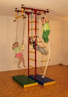 Indoor Home Playground for children - articles and reviews in the ...