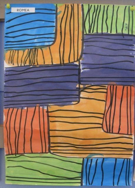 lignes horizontales/verticales