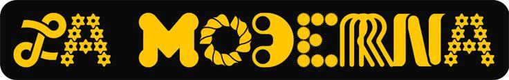la moderna (pasta company) logo, 1970 (with ernesto lehfeld)