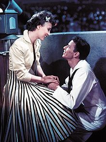 Betty Garrett and Frank Sinatra
