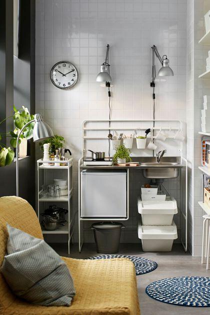 17 bästa idéer om Küchenzeile Ikea på Pinterest | Brüstungskanal ... | {Mini küchenzeile ikea 71}