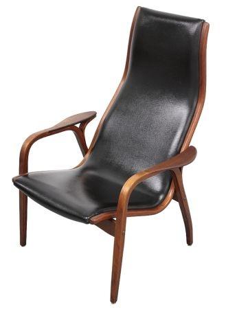 Chicago: Yngve Ekstrom LAMINO Chair Mid Century Danish Scandinavian Wegner  Swed $600   Http: