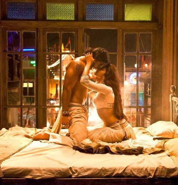 Ranveer Singh & Deepika Padukone in a sizzling new still from Ram-leela | Bollywood Movies