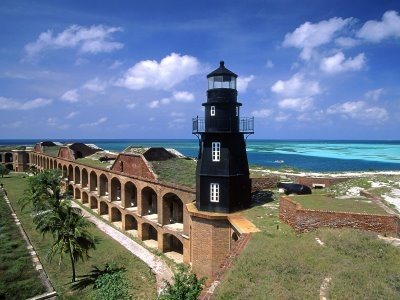 Fort Jefferson Farol Dry Tortugas National Park Florida