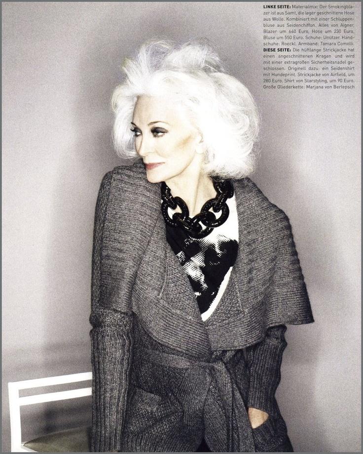Carmen Dell'Orefice. Fabulous.