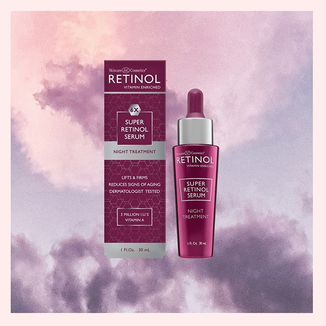 Step 2 Serum Retinol Super Serum With 3 Million I U's Vitamin A Encourages Yo Retinol Serum Night Treatment Retinol