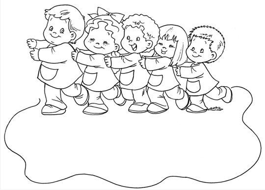 niños peleando en el salon de clases para colorear ...
