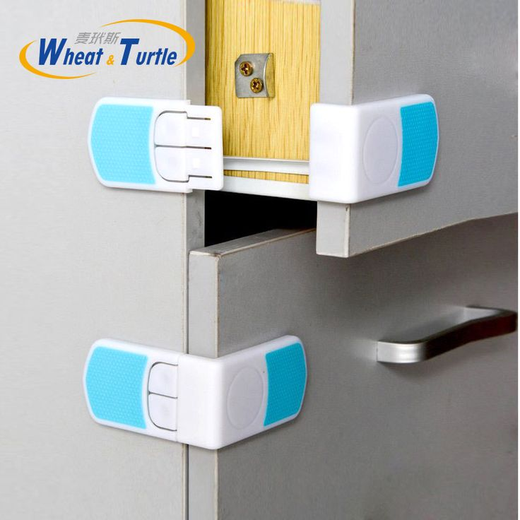Environmentally Friendly ABS Material Baby Care Safety Lock Drawers Cabinets Refrigerators Infant Safety Protector Lock