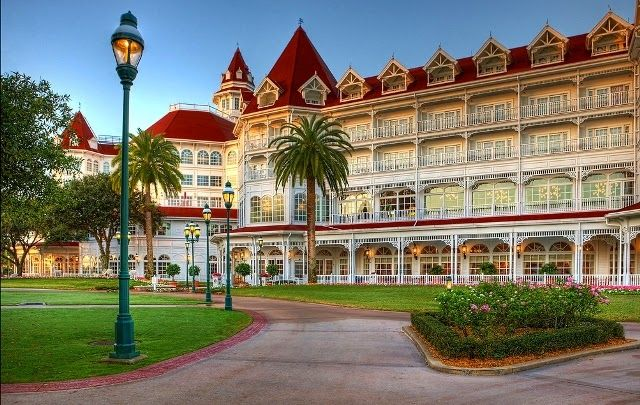 Na Disney: Hotéis no Complexo - Disney's Grand Floridian Resort & Spa