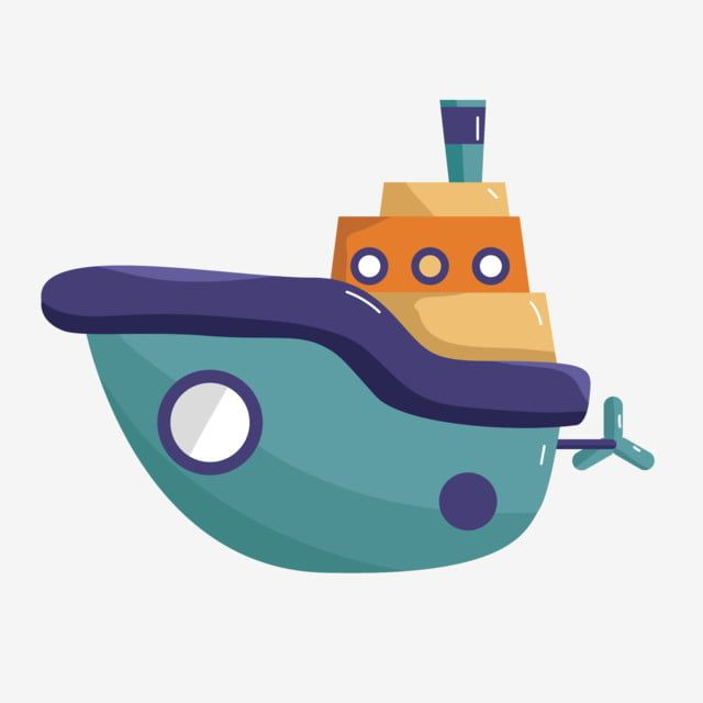 Baby Toy Ferry Blue Boat Hand Drawn Boat Boat Clipart Cartoon Ship Blue Boat Png And Vector With Transparent Background For Free Download How To Draw Hands Blue Boat Boat Vector