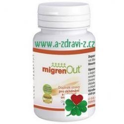 MigrenOut - migrény, menopauza, vitalita, zdravý spánek. Český přírodní produkt bez chemie.