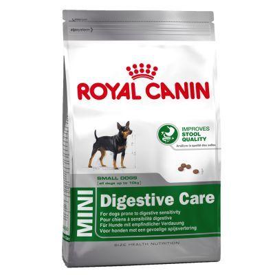 Les croquettes pour chien Royal Canin Mini Digestive Care sont incroyablement savoureuses et parfaitement adaptées aux besoins spécifiques des chiens sensibles ou exigeants de petites races (1 à 10…