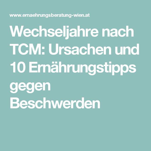 Wechseljahre nach TCM: Ursachen und 10 Ernährungstipps gegen Beschwerden