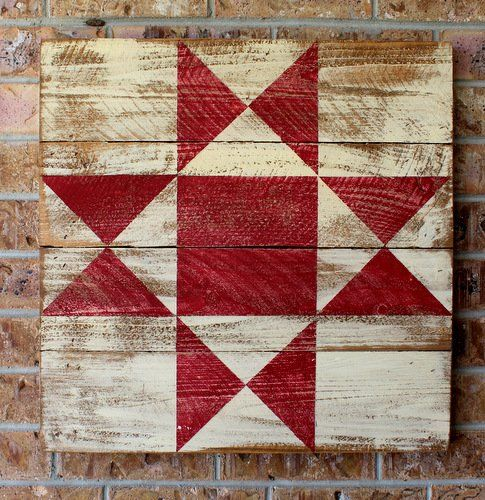 Ohio Star Barn Quilt / Tweetle Dee Design Co.