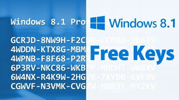 Latest Working Windows 8 1 Product Keys 2020 All Version Windows 8 Windows Windows Software
