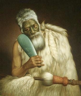 Wiremu Kingi, oil painting by Gottfried Lindauer