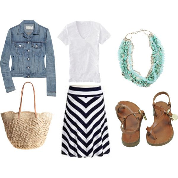 Summer breeze outfit.: Summer Day, Jeans Jackets, Summer Style, Cute Outfits, Denim Jackets, Cute Summer Outfits, Old Navy, Summer Clothing, Spring Style
